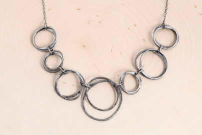 moments-of-zen-rustic-hammered-chain-necklace-polished-steel-iron-dirtypretty-artwear-5