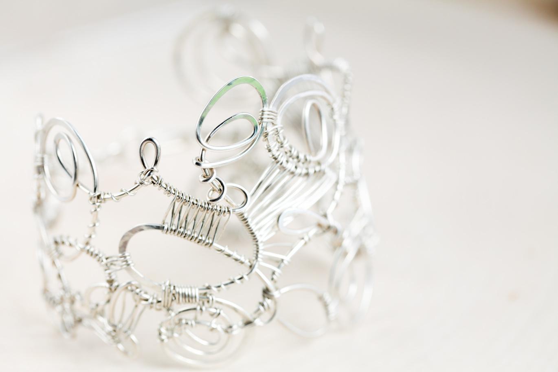 Organized Chaos - Handmade Wire Wrapped Statement Bracelet ...