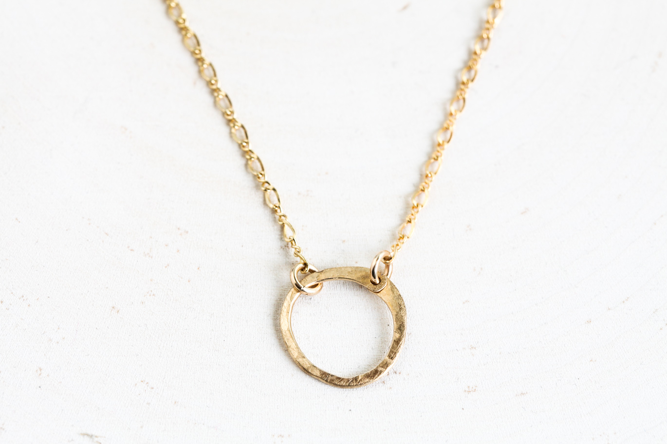 simple necklace circle dainty minimalist open il fullxfull amld listing eternity gold hoop
