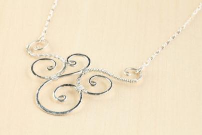 trio-handmade-wire-wrapped-spirals-necklace-hammered-silver-dirtypretty-artwear-3