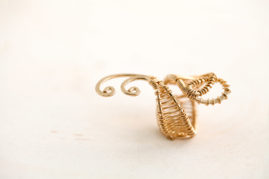 gold ring - lakshmi energy rings