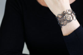 iron energy bracelet - steel jewelry