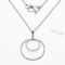 11 year anniversary gift - 11th Anniversary Ideas - Double Happiness Steel Necklace - dirtypretty artwear