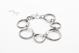 6 year anniversary gifts - Moments of Zen Iron Bracelet - unique anniversary gifts - dirtypretty artwear