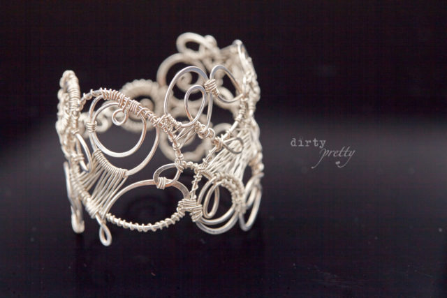 Great Gifts for her - Organized Chaos Silver Bracelet by dirtypretty artwear - Gift Ideas for her