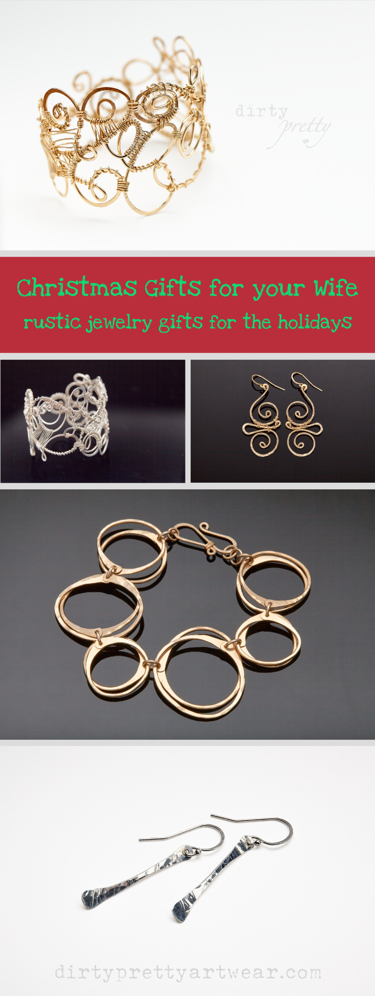 Christmas Gifts for Wife | rustic jewelry gifts for the holidays ...